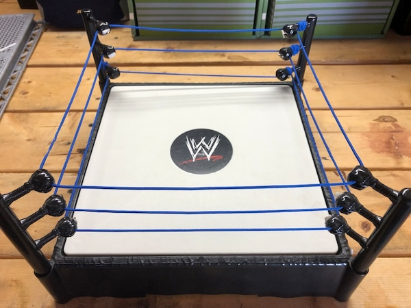 Wwe Ring With Steel Cage