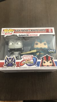 Exclusive Funko Pops Marvel vs Capcom