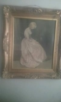 woman in white dress painting Prattville, 36067
