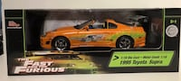 Fast And The Furious 1995 Toyota Supra 1:18 London, N6E 1G2