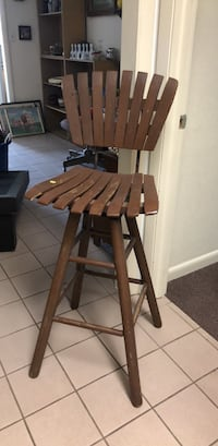Brown wooden  armless chair Lake Wales, 33853