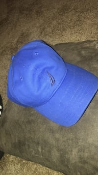 Blue nautica hat