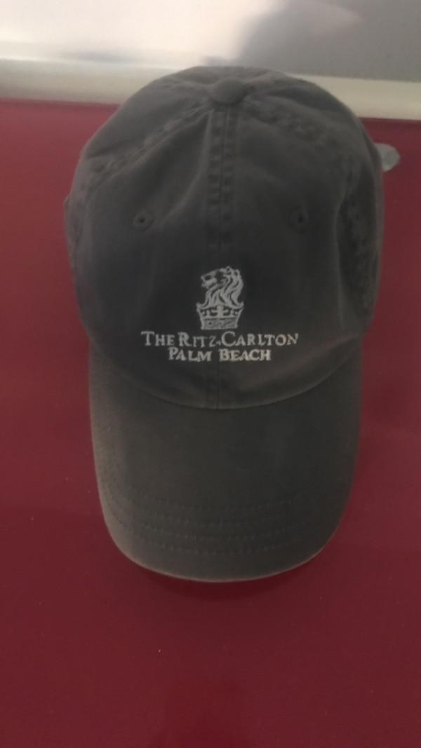 Used gray The Ritz Carlton Palm Beach baseball cap for sale in Philadelphia  - letgo 0296cd766f8