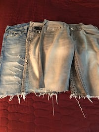 three blue and gray denim jeans Washington, 20002