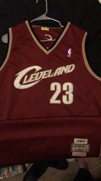 2004  played in Lebron james rookie jersey with authentication