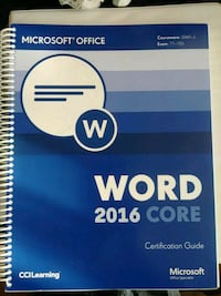 Word 2016 Core tutorial Mississauga, L5M 6J8
