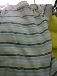 gray and black striped polo shirt 601 mi