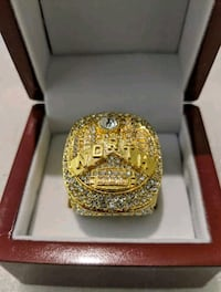 Raptors Champ Ring In Limited Edition Champions Box!
