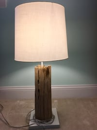 brown and white table lamp Annandale, 22003