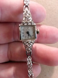 14k White Gold Bulova Watch Hagerstown