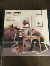 Phil & Teds Lobster High Chair (Brand new, in box) Burnaby, V5E 3J2