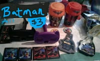 Batman lot, cups, puzzle, tin, viewers $3 all Crest Hill, 60403