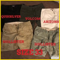 Men's shorts Size 32-34 Bakersfield, 93314