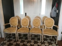 Antique wooden dining chairs Elizabeth, 07208