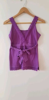 Esprit purple eyelet top size small Vancouver, V6B