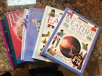 6 Educational Books for reading level 9 and up (ages 8-14)  Chantilly, 20152