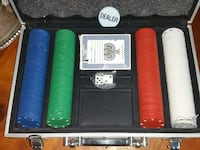 Poker Set with 200 Chips, Cards, and Dice Charlotte, 28227