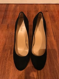 J. Crew Black Suede Pumps Greenville