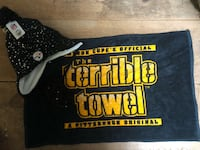 Glitter terrible towel and hat!!! Hat NWT Shinnston, 26431