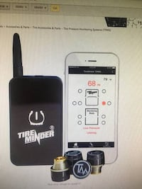TireMinder Smart TPMS with 4 Transmitters for RVs, MotorHomes, 5th Whe Fredericksburg