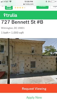 APT For rent 4+BR 1BA Wilmington