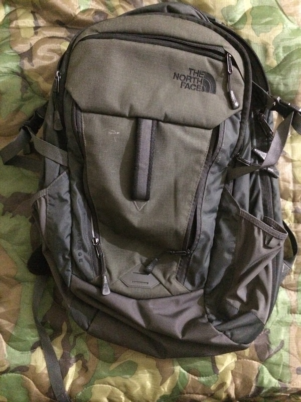 e49409f17a7 Used Black and gray the north face backpack for sale in San Jose - letgo