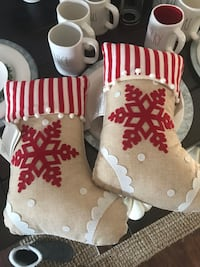 Christmas stocking pillows new  Newport News, 23601