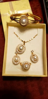 Brand new pearl jewelry set Annandale, 22003