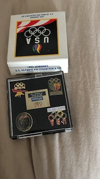 1992 JCPenney U.S. olympic pin collectors set Daly City, 94015