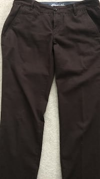 Eddie Bauer chocolate brown pants