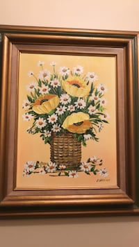 Sunflowers oil painting by Claire Gardiner Smithtown, 11787