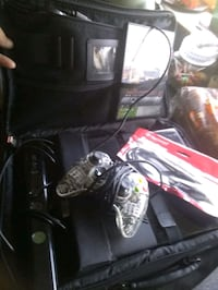 X box 360 and controller,& 2 game chairs