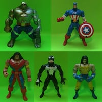 90's Marvel Toybiz action figures X-Men Spider-Man Avengers! Port Perry