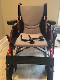 Karman Healthcare ultra light wheelchair with 2 extra seat cushions. Pittsfield, 01201