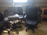 Assorted swivel chairs