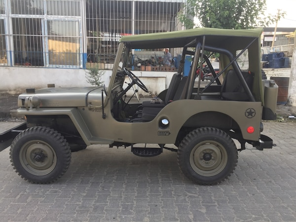 Willys Jeep For Sale >> Used 1953 Model 4 Ceker Askeri Willys Jeep Meraklisina For Sale In