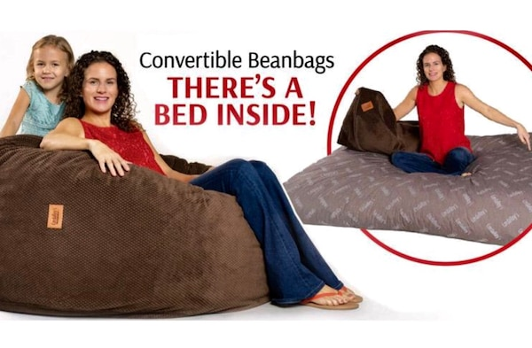 Marvelous For Sale New Cordaroys Bean Bag Chair Converts Into A Full Size Bed Plus Waterproof Bed Cover Retail Price Is Over 400 Asking 300 Dailytribune Chair Design For Home Dailytribuneorg