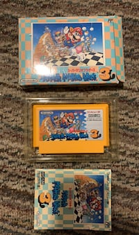 Super Mario Bros. 3 Famicom + Box & Manual Manchester, 03104