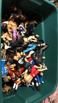 assorted action figures in box Port Richey, 34668