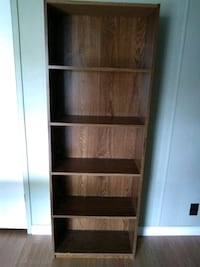 5 Shelf Wooden Bookcase Selah, 98942