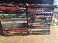 assorted DVD movie case lot Chilliwack, V2R 5H4