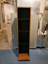 4 row solid wood DVD/media tower Dundalk, 21222