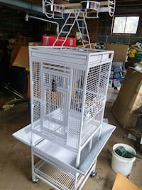 Play top bird cage, New