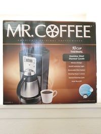 NEW stainless steel carafe coffee maker