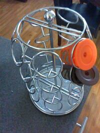 gray metal condiment shaker rack Fairfax, 22032