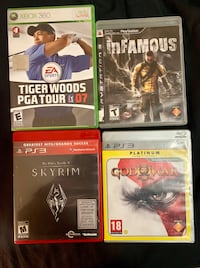 Ps3 Xbox games