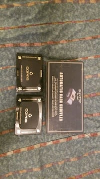 automatic card shuffler(unopened) w/2 sets cards