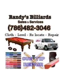 Pool Table Movers & Installers  Miami