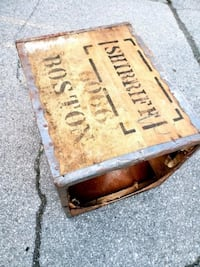Vintage Wooden Tea Crate.