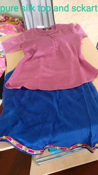 Pure silk top and sckart  Mississauga, L5M
